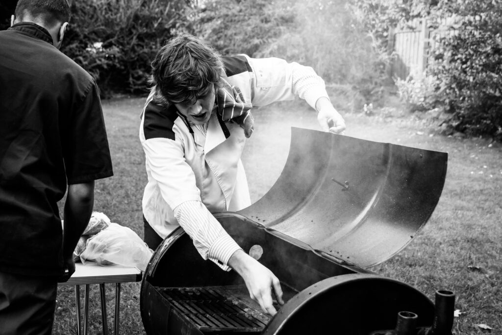 Barbecue wedding