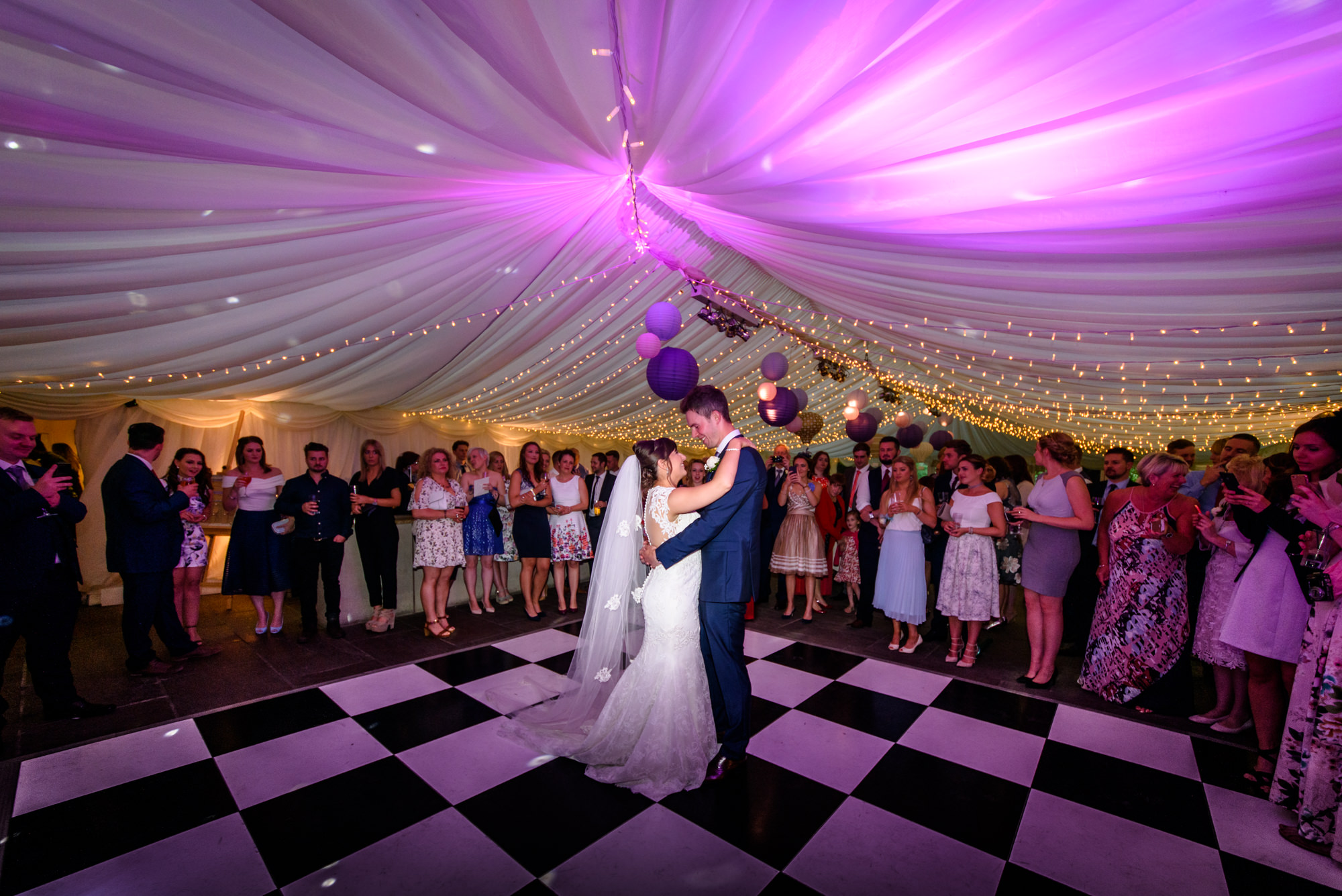 First dance at The inn at Whitewell