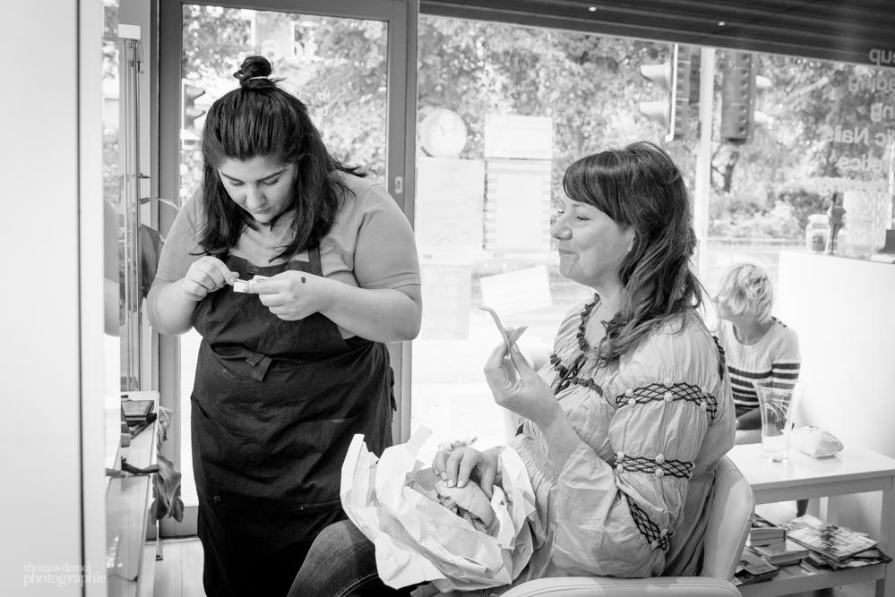 Bridal preparation in Heaton Moor