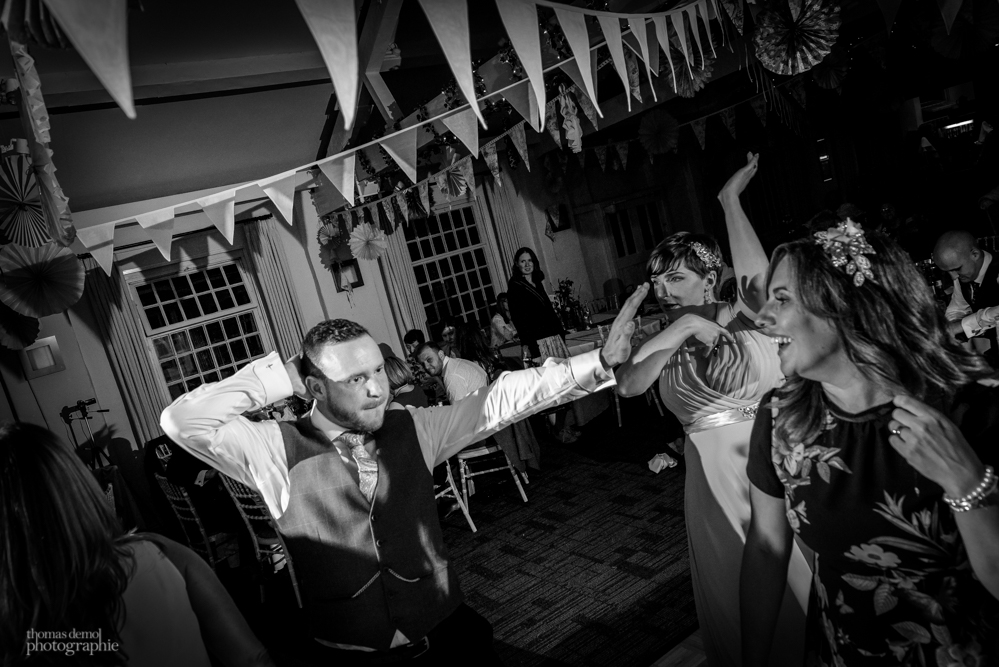 Wedding evening party at Quarry Bank Mill