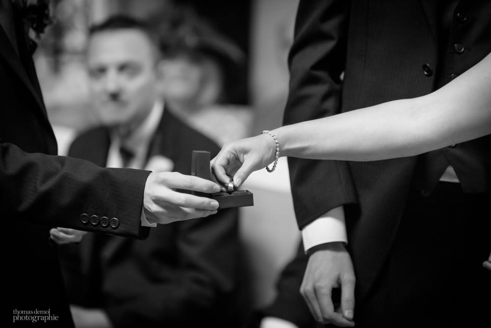 Ring exchange at Samlesbury Hall
