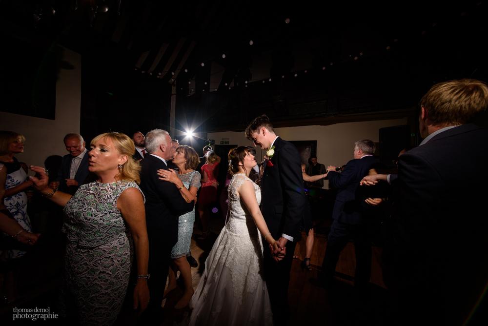 Wedding party at Samlesbury Hall