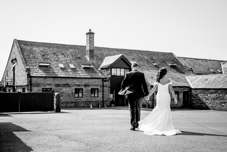 Wedding portrait photos at Beeston Manor
