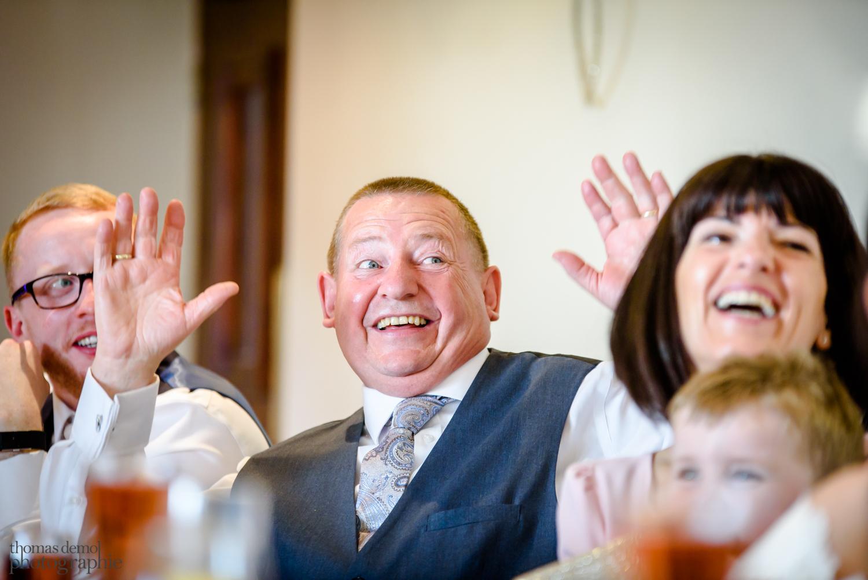 Wedding speeches at Beeston Manor