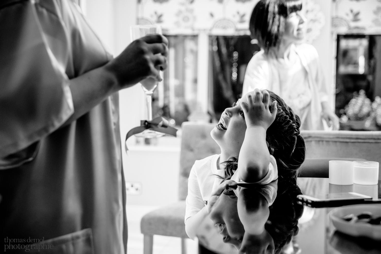 Wedding preparation Beeston Manor