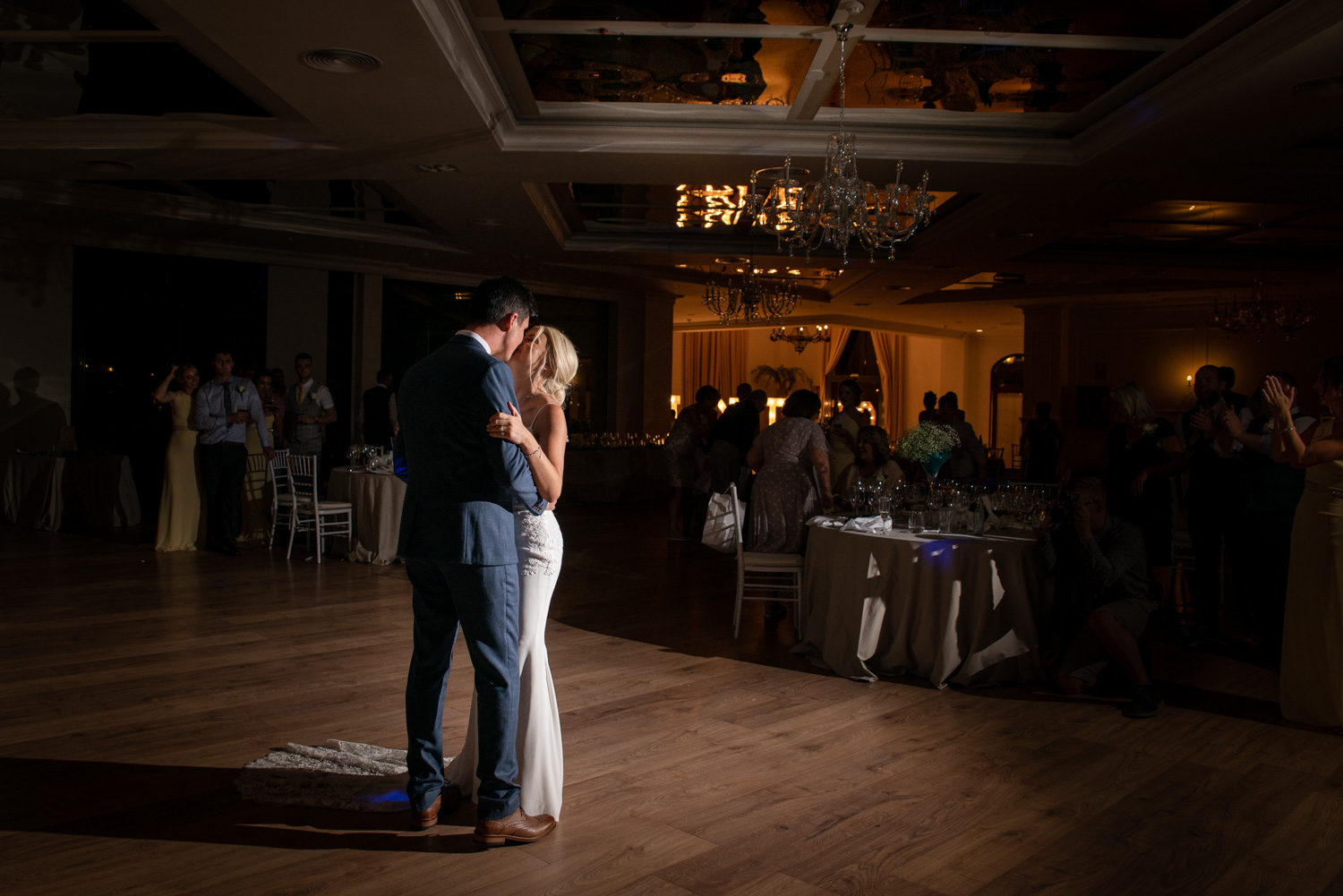 First dance at La vinuela