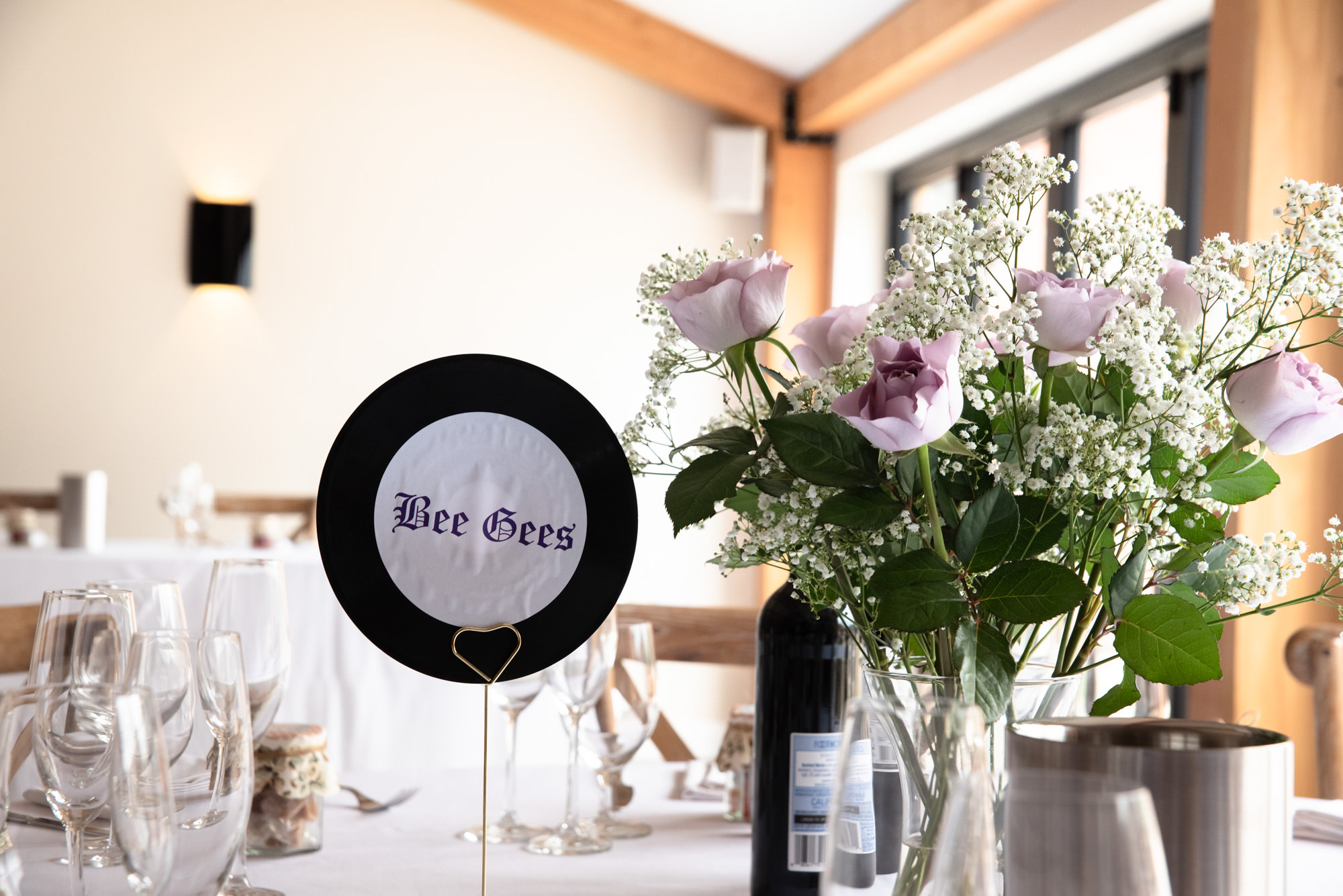 table names using old vinyls