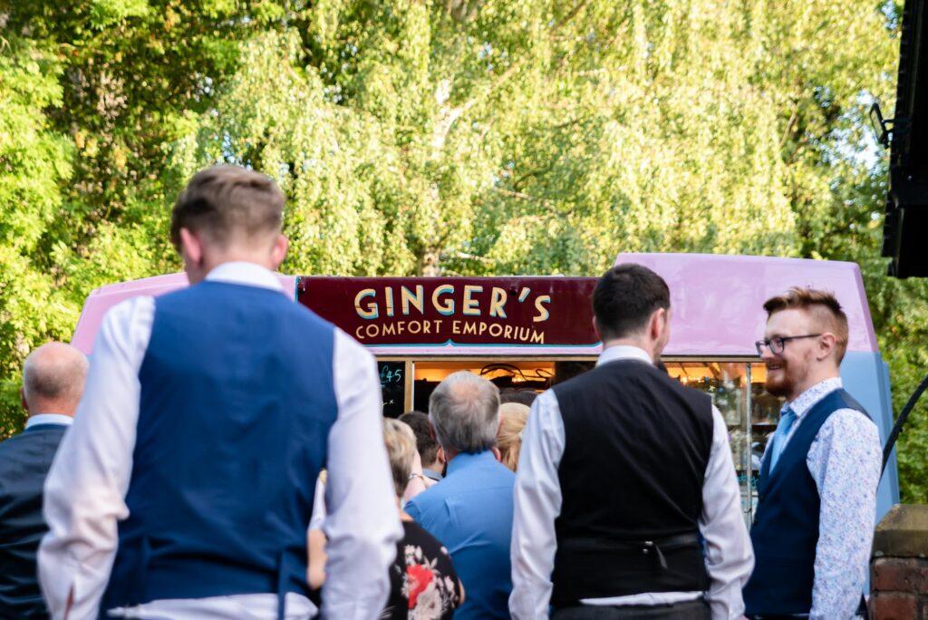 Ginger's comfort emporium ice cream van