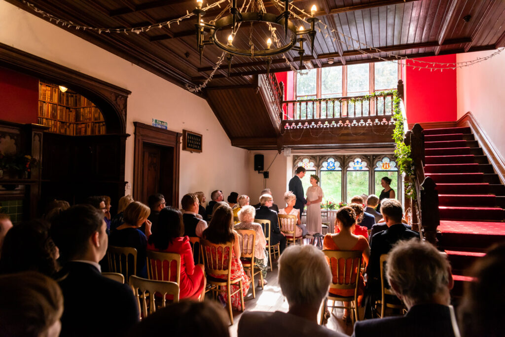 Hargate hall ceremony room