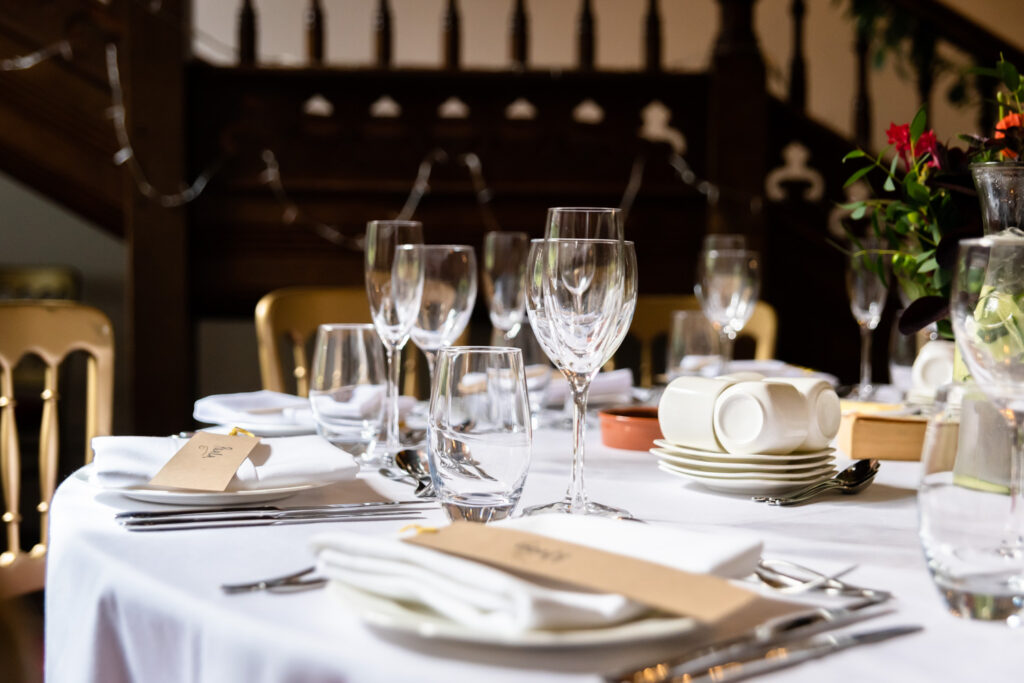 Hargate hall tables