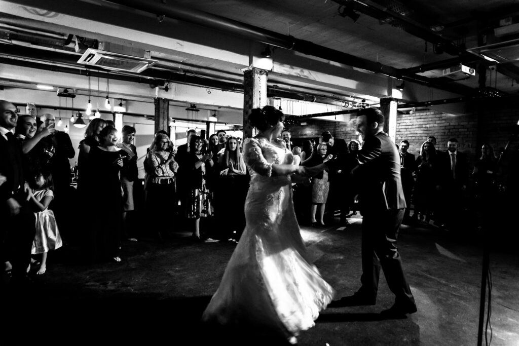 First dance at Victoria warehouse