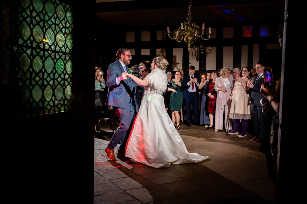 First dance in Bramall Hall
