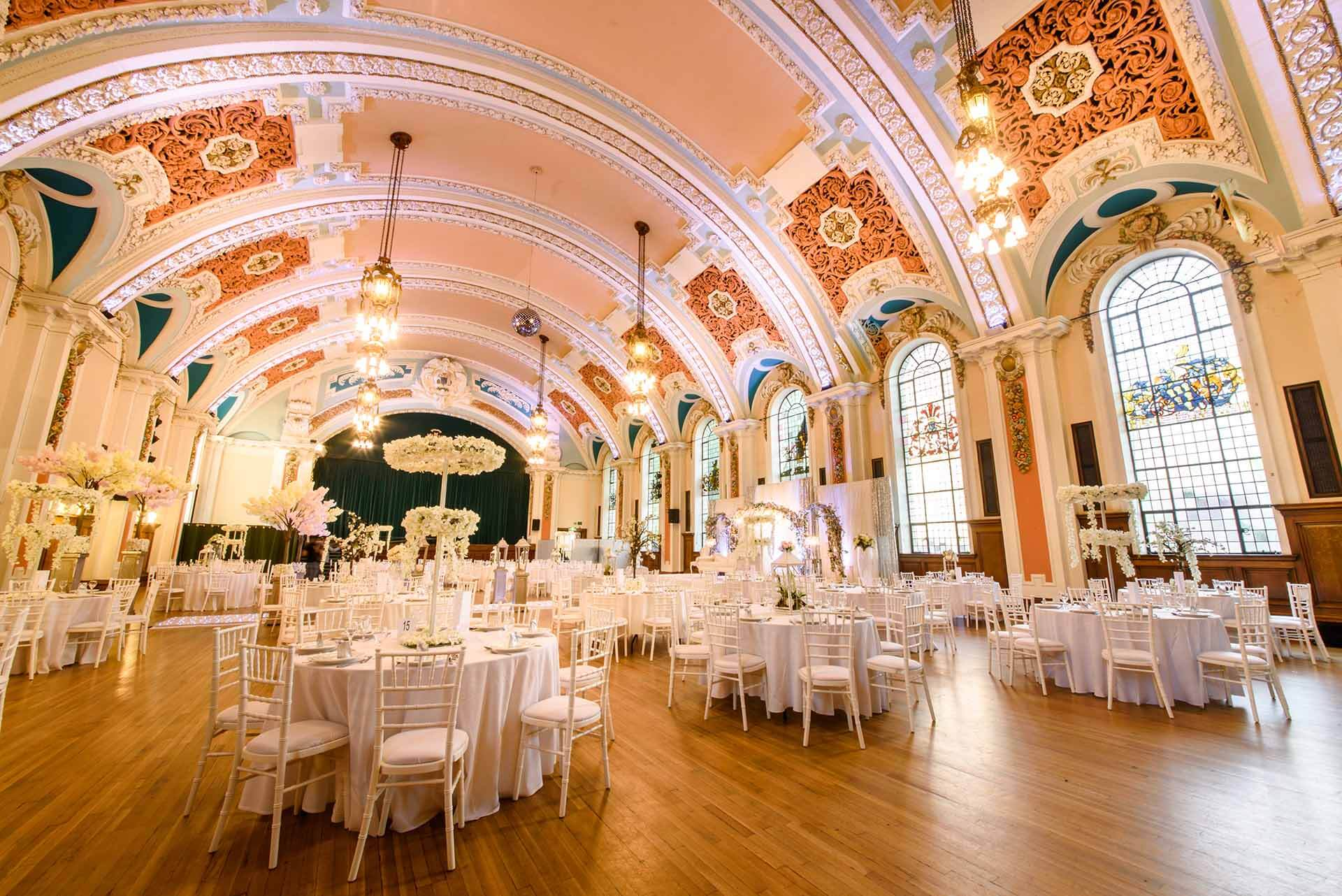 Stockport Town Hall Ballroom
