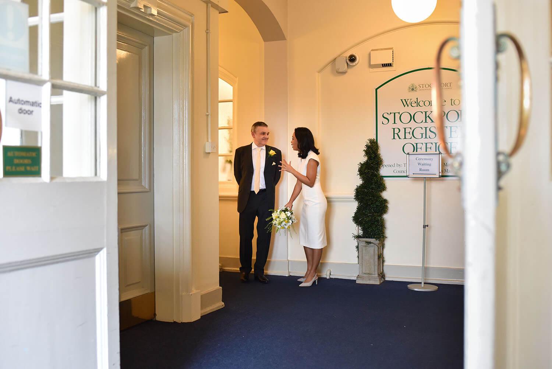 stockport registry office entrance