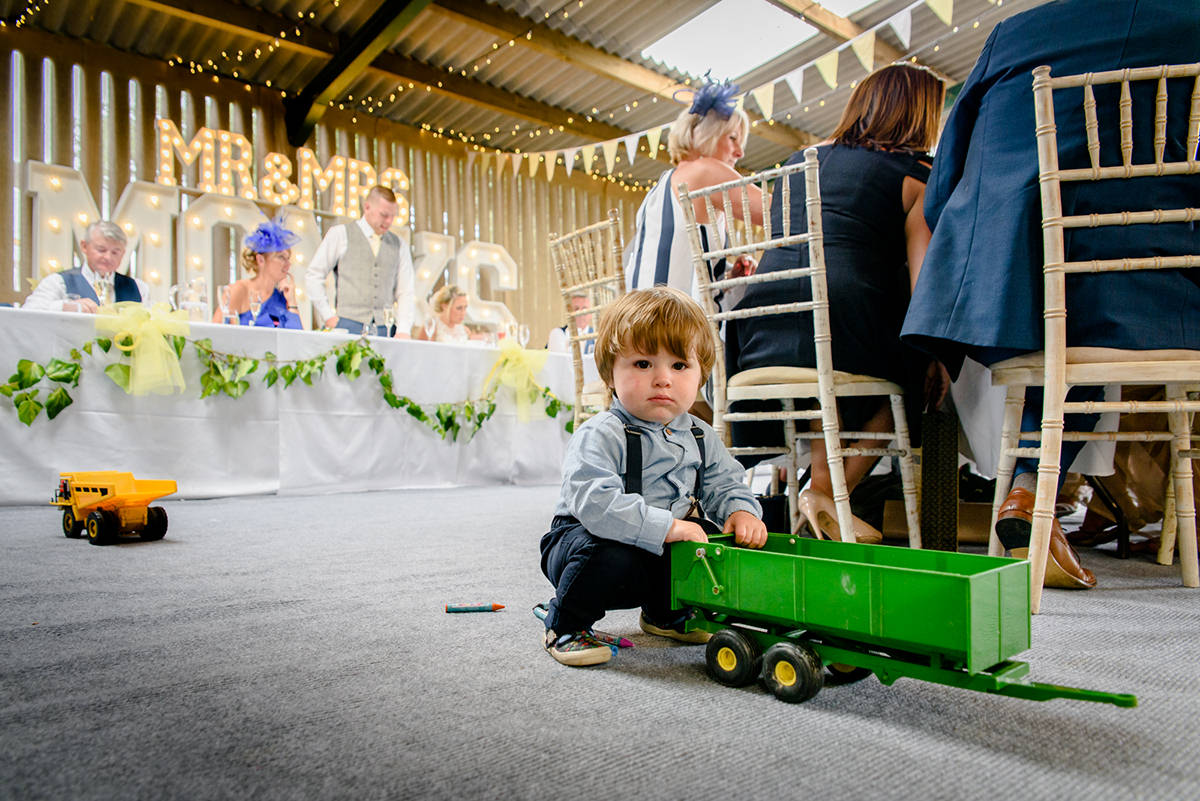 The limbo is often the most popular game for an outdoor wedding