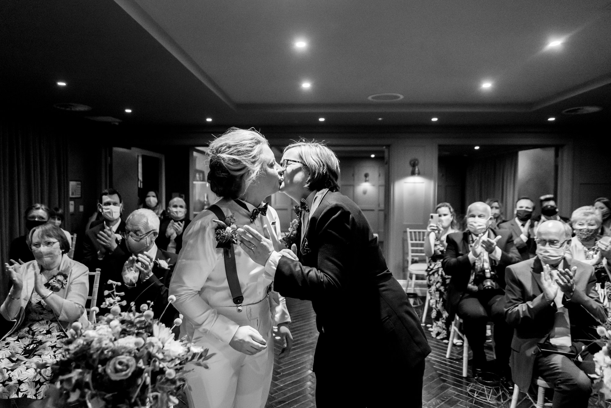First kiss at King Street Townhouse