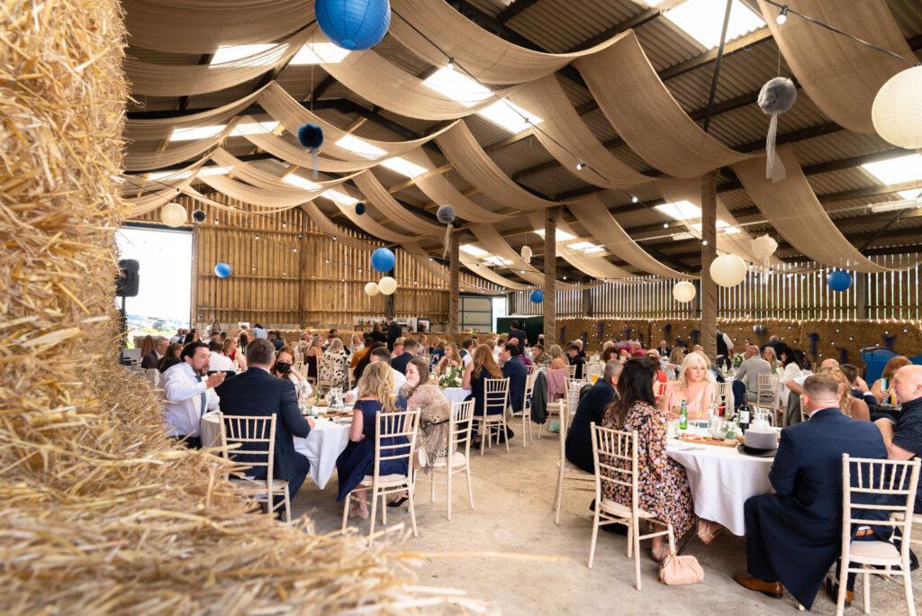 Wedding at Thornsett Fields Farm