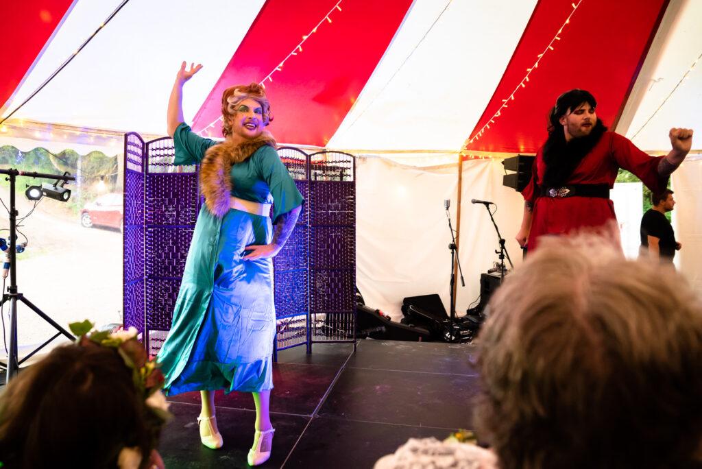 First dance in drag at Gisburne Park Estate