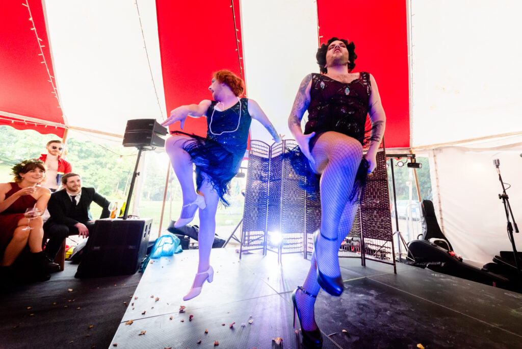 Drag dance routine at Gisburne Park Estate