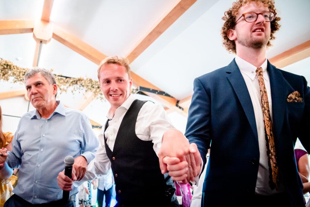 Jewish party at Hanbury Wedding Barn