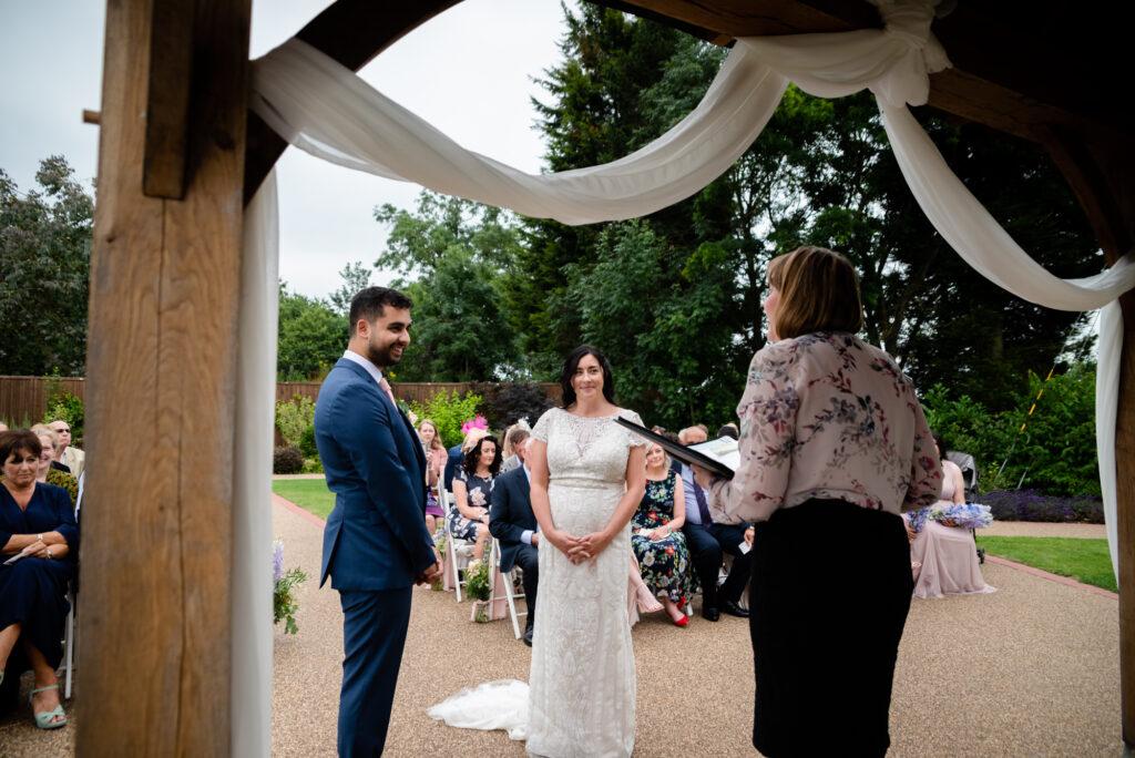 Outdoor civil ceremony