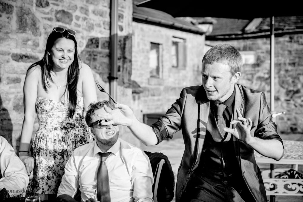 Wedding magician at Beeston Manor