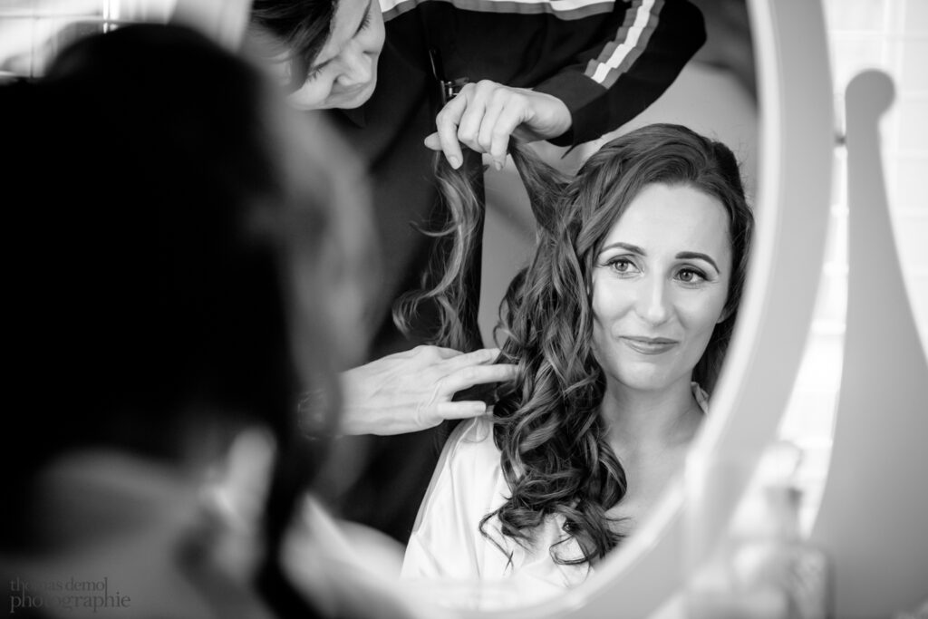 Wedding preparation Beeston Manor