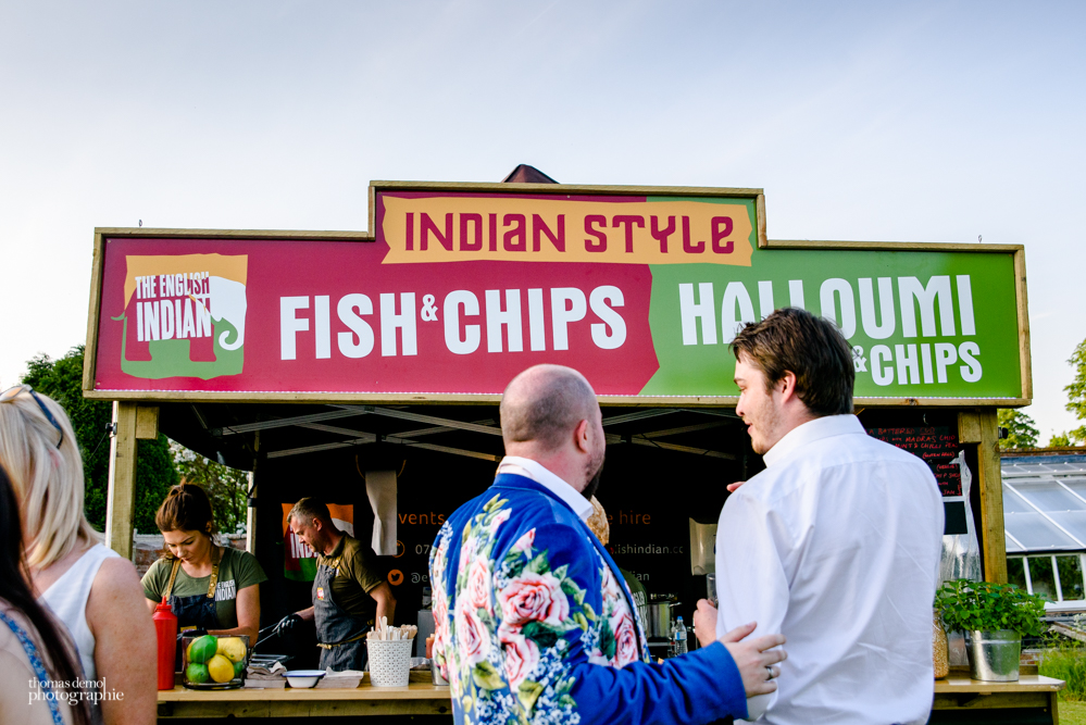Indian Style fish and chips