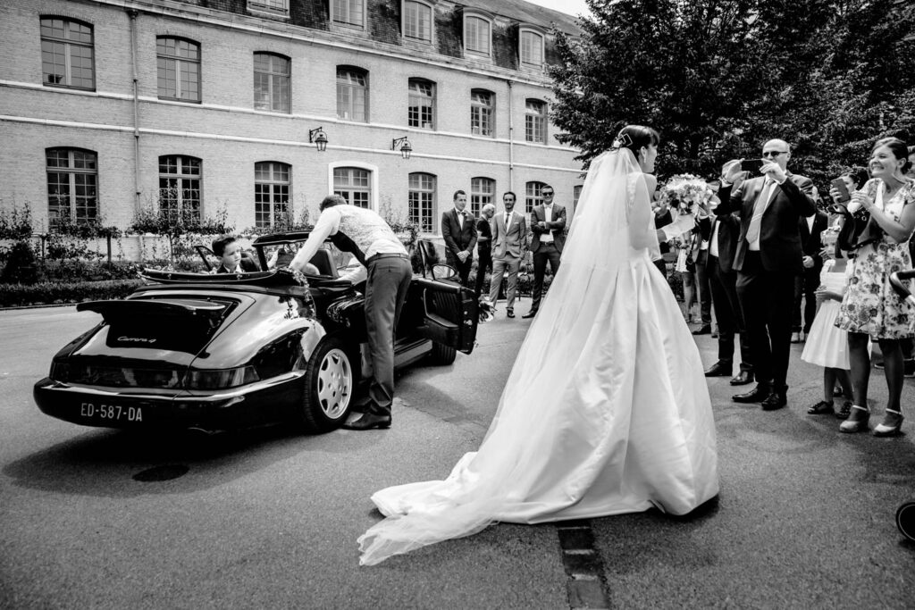 Bride at the townhall in France