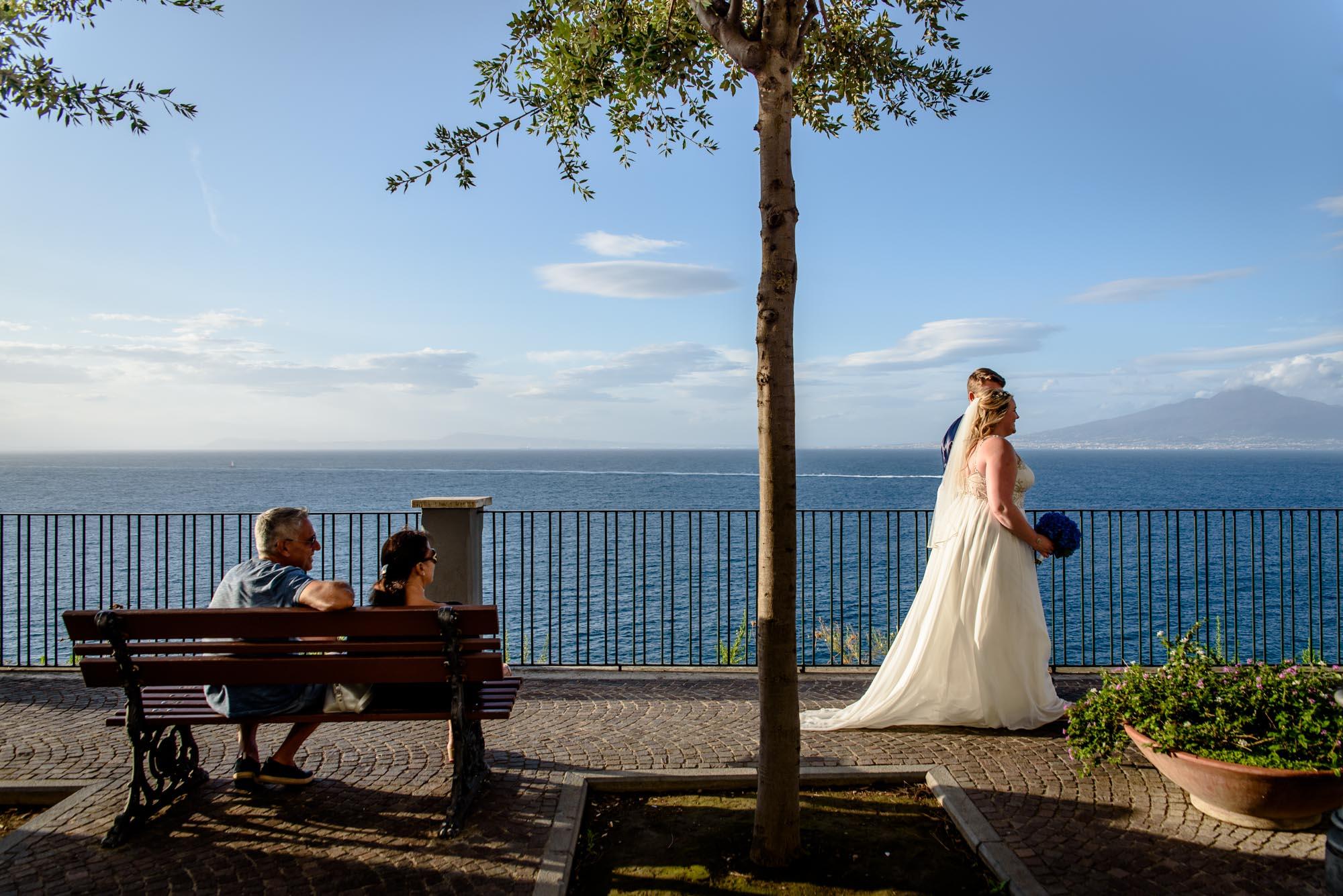Wedding photography in Sorrento