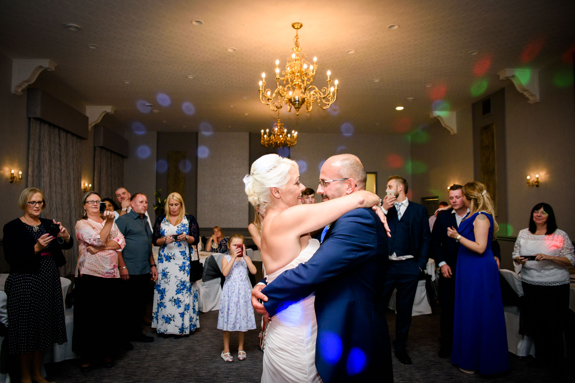 First dance at Shrigley Hall