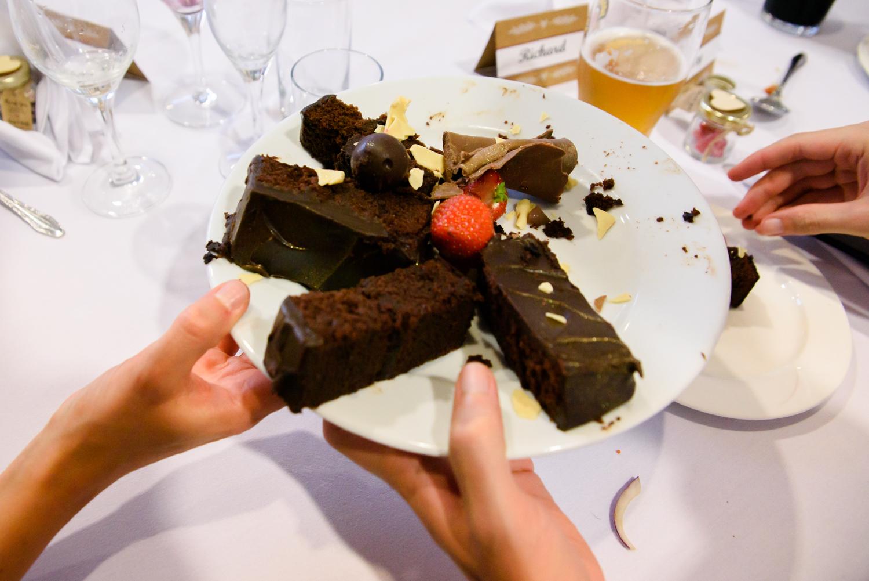 cake passing around