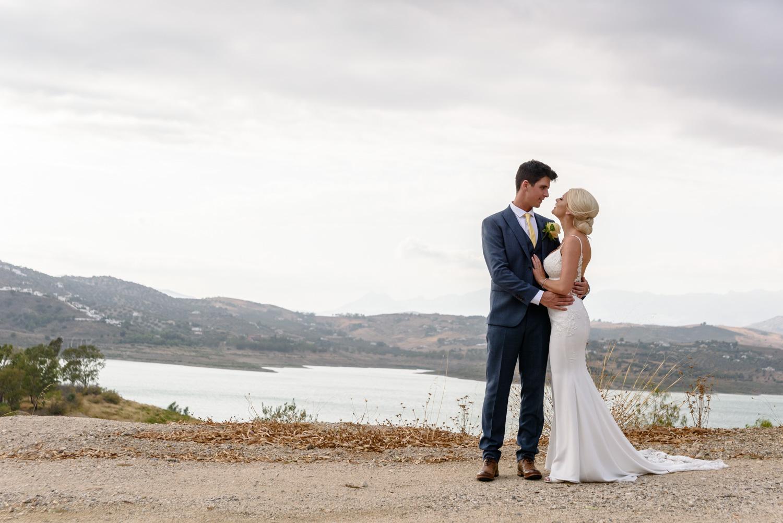 Wedding portrait La vinuela