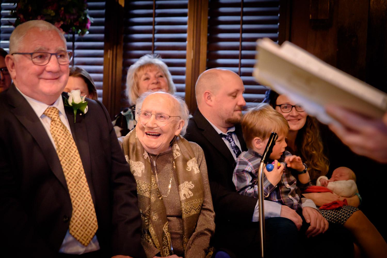 grandma smiling