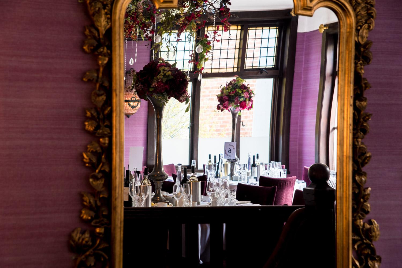 Belle epoque table settings