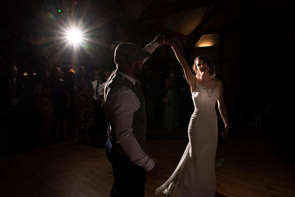 First dance at Sandhole Oak Barn